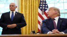 معاون اول رئیس جمهور، ترامپ را آنفالو کرد!/ کابینه ترامپ در فکر برکناری او