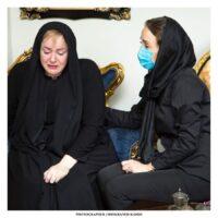 تصاویر مراسم یادبود ماهچهره خلیلی در منزل نعیمه نظامدوست