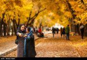 پاییز در چهار باغ اصفهان