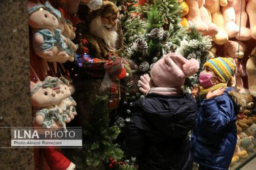 (تصاویر) خرید سال نو میلادی در تهران