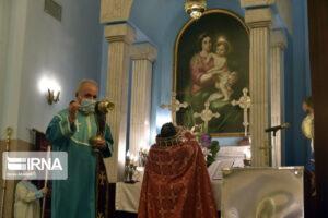 (تصاویر) مراسم تولد و غسل تعمید عیسی مسیح(ع) در تهران