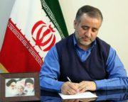 پیام تشکر فرماندار شهرستان مشهد از مردم برای حضور در جشن ملی انتخابات