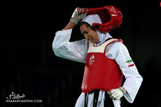 کیمیا علیزاده به المپیک نرسید