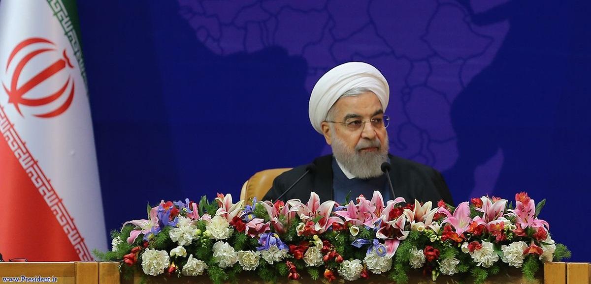 روحانی: ۱۸ دسامبر روز جهانی علیه خشونت نامگذاری شود