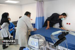 (تصاویر) بیمارستان صحرایی در بیمارستان مسیح دانشوری