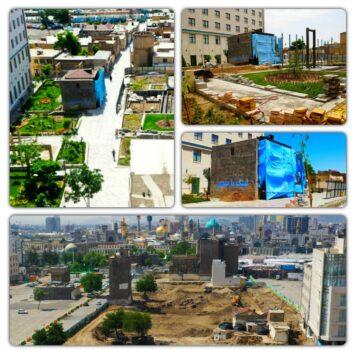 حفظ و احیای ۲ باب مسجد در محدوده اجرای دو ره باغ در منطقه ثامن