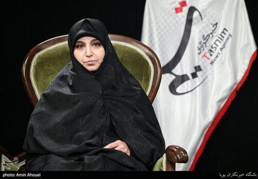 حضور نرجس سلیمانی کاندیدای شورای شهر در خبرگزاری تسنیم