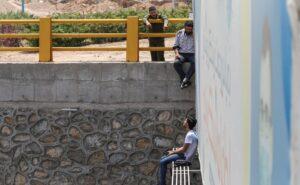 (تصاویر) نجات جان جوان یزدی از خودکشی